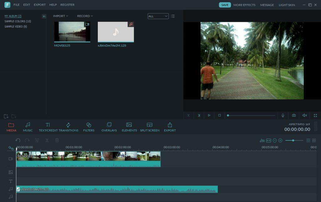 Timeline: Video dan Musik
